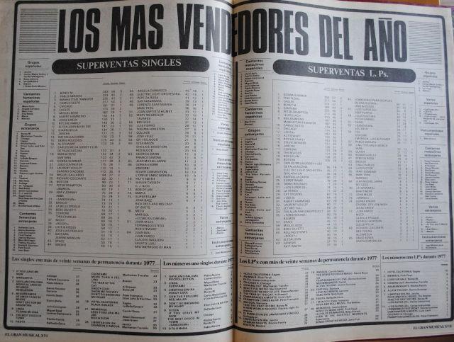 los superventas 1978