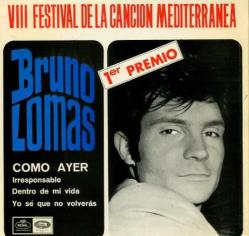 Bruno Lomas como ayer